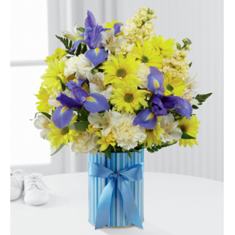 FTD Little Miracle Bouquet Boy
