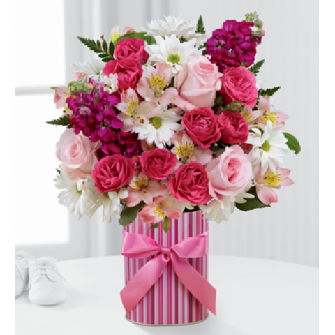 FTD Little Miracle Bouquet-Girl