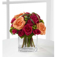The FTD® Deep Emotions® Rose Bouquet by BHG® - As Shown