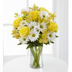 The FTD® Sunny Sentiments™ Bouquet - As Shown