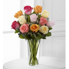 The FTD® Graceful Grandeur™ Rose Bouquet - As Shown