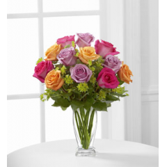The FTD® Pure Enchantment™ Rose Bouquet - As Shown