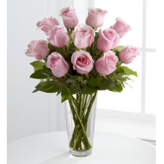 The FTD® Pink Rose Bouquet - As Shown