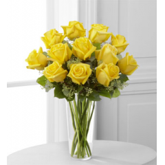 The FTD® Yellow Rose Bouquet - As Shown