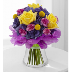 The FTD® Colors Abound™ Bouquet - As Shown