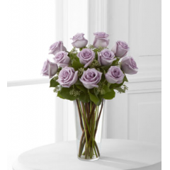 The FTD® Lavender Rose Bouquet - As Shown