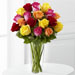 The FTD® Bright Spark™ Rose Bouquet - Deluxe