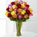 The FTD® Bright Spark™ Rose Bouquet - Premium