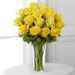 The FTD® Yellow Rose Bouquet - Deluxe