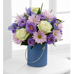 The FTD® Color Your Day With Tranquility™ Bouquet - Good