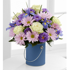 The FTD® Color Your Day With Tranquility™ Bouquet - Better