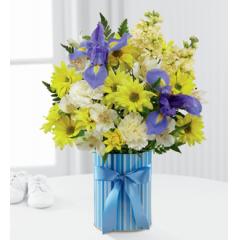 FTD Little Miracle Bouquet Boy - Good