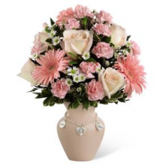 The FTD® Mother's Charm™ Bouquet - Girl - As Shown