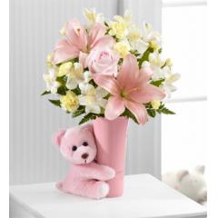 The FTD® Baby Girl Big Hug™ Bouquet - Good