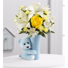 The Baby Boy Big Hug® Bouquet - Good