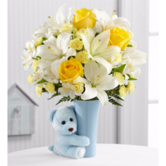 The Baby Boy Big Hug® Bouquet - Premium