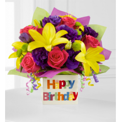 The FTD® Happy Birthday Bouquet - As Shown