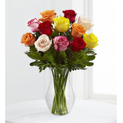 The Enchanting Rose Bouquet - As Shown