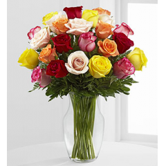 The Enchanting Rose Bouquet - Premium