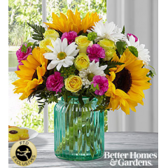 The FTD® Sunlit Meadows™ Bouquet by Better Homes and Gardens® - As Shown