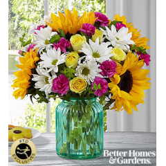 The FTD® Sunlit Meadows™ Bouquet by Better Homes and Gardens® - Premium