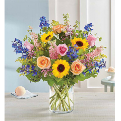 French Country Garden Bouquet - As Shown