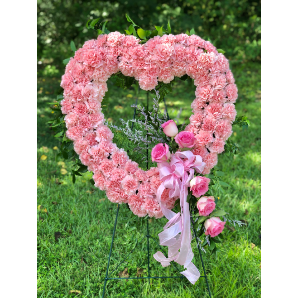 Wreaths, Crosses and Hearts