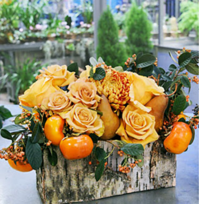 Casual Gathering Fall Centerpiece