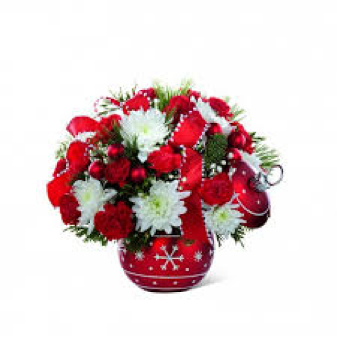 Season's Greetings Bouquet by Fremont Flowers
