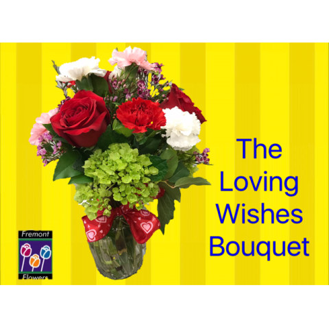 Fremont Flowers Loving Wishes Bouquet