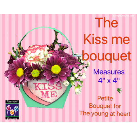 The Kiss Me Bouquet