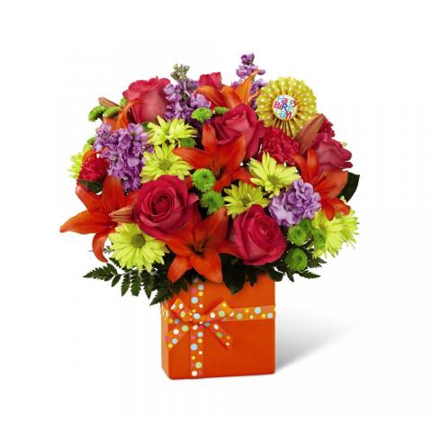Fremont Flowers Birthday Bouquet 2