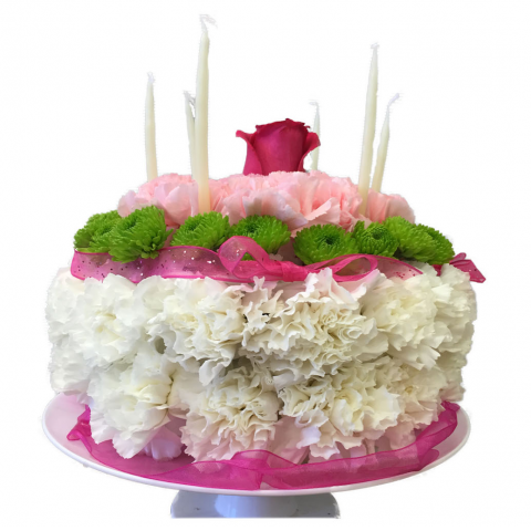 Fremont Flowers Floral Birthday Cake
