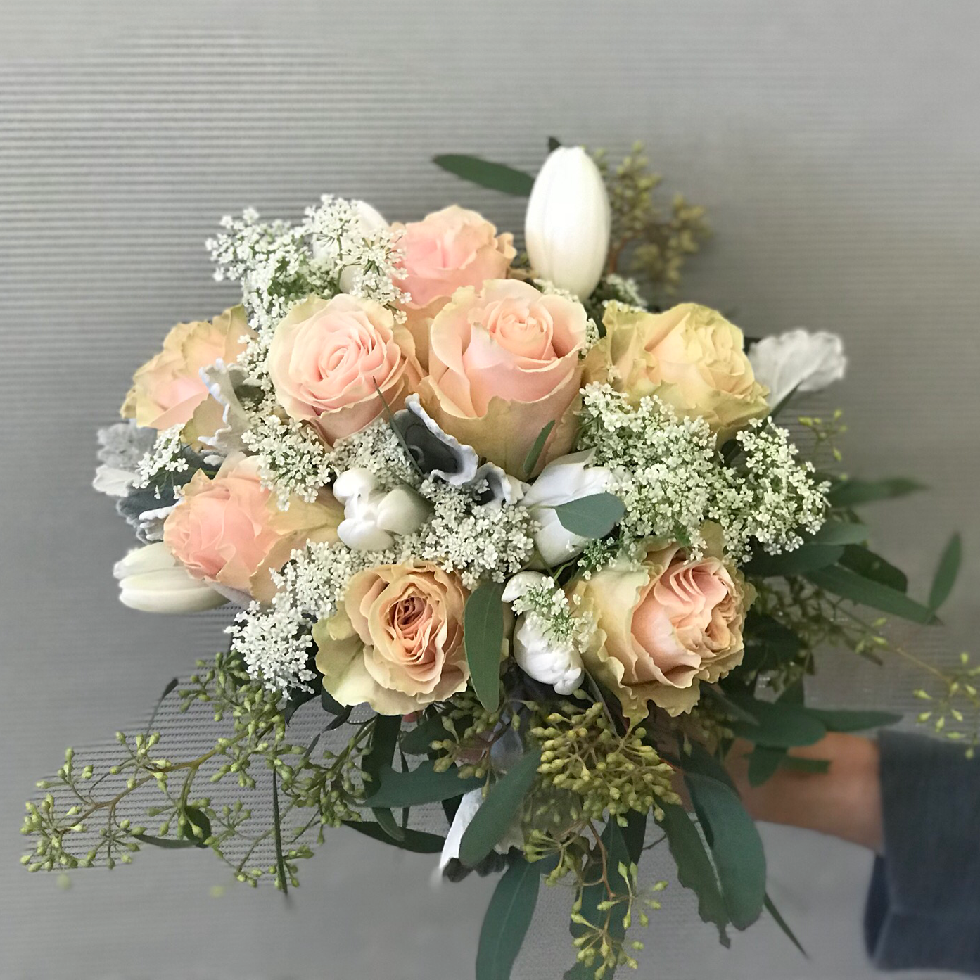 wedding hand tied bouquets