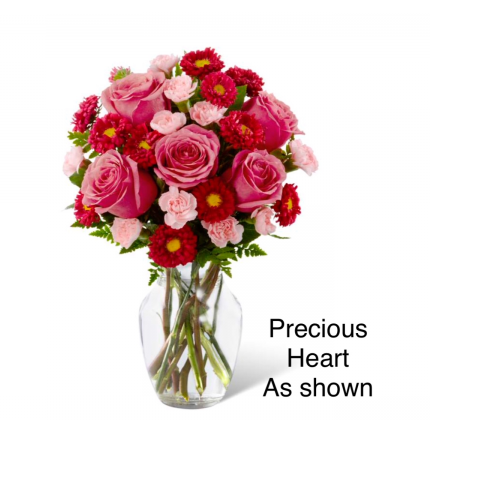 The Precious Heart bouquet