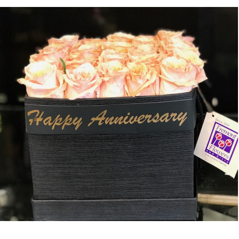 Anniversary Hat Box