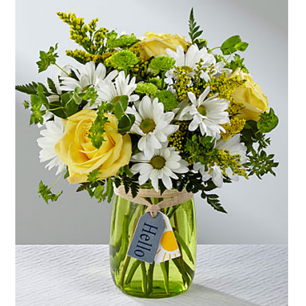 The Hello Sunshine Bouquet