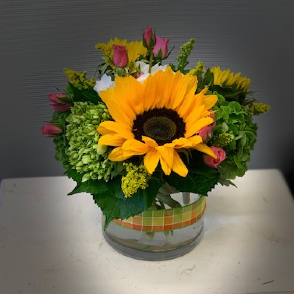 The Sunflower Bouquet