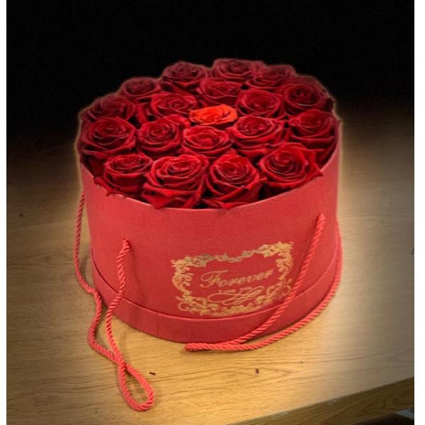 Red Rose Box 18 roses