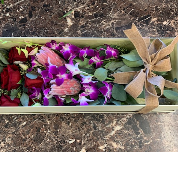 Exotic Box Bouquet