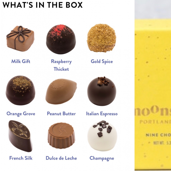 Chocolates: Moonstruck