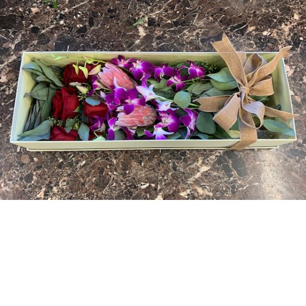 Exotic Box Bouquet