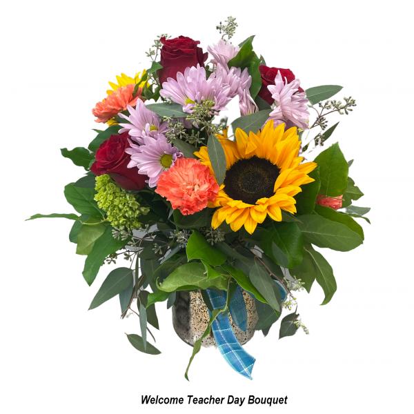 Welcome Teacher Day Bouquet