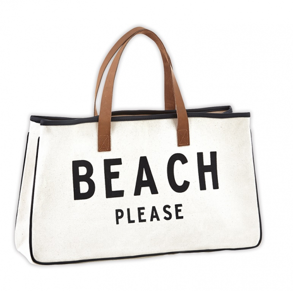 TOTE CANVAS - BEACH