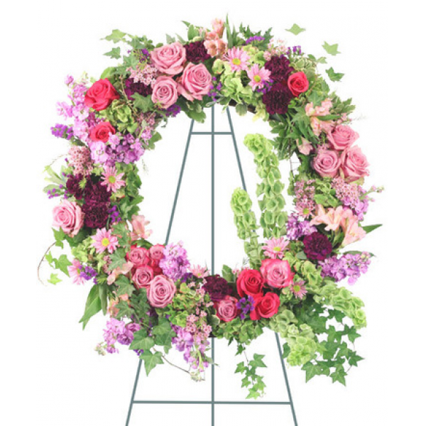 Garden Of Heaven Wreath