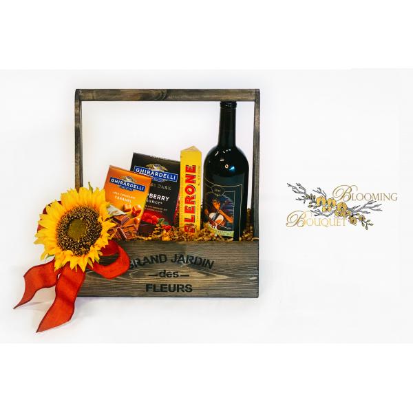 Box of Wine & Chocolates