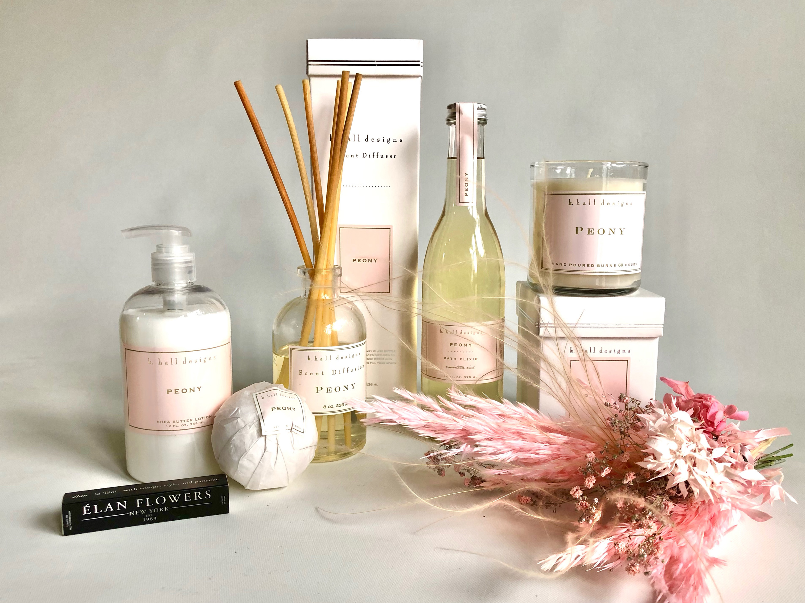 Peony Bath and Body Collection
