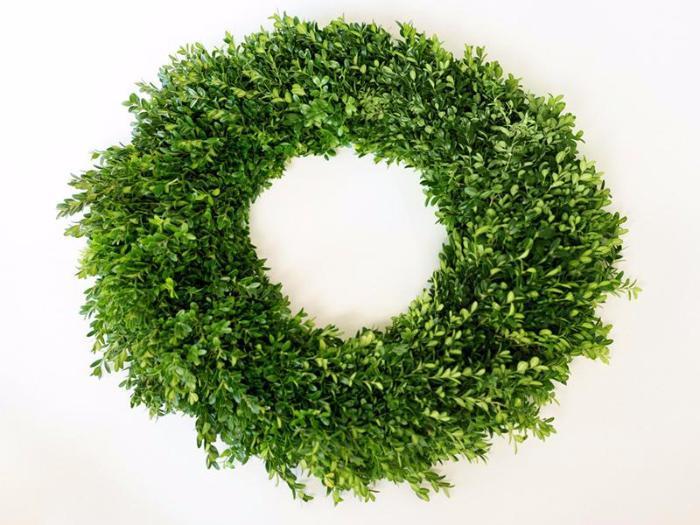 Boxwood Wreath and Garland