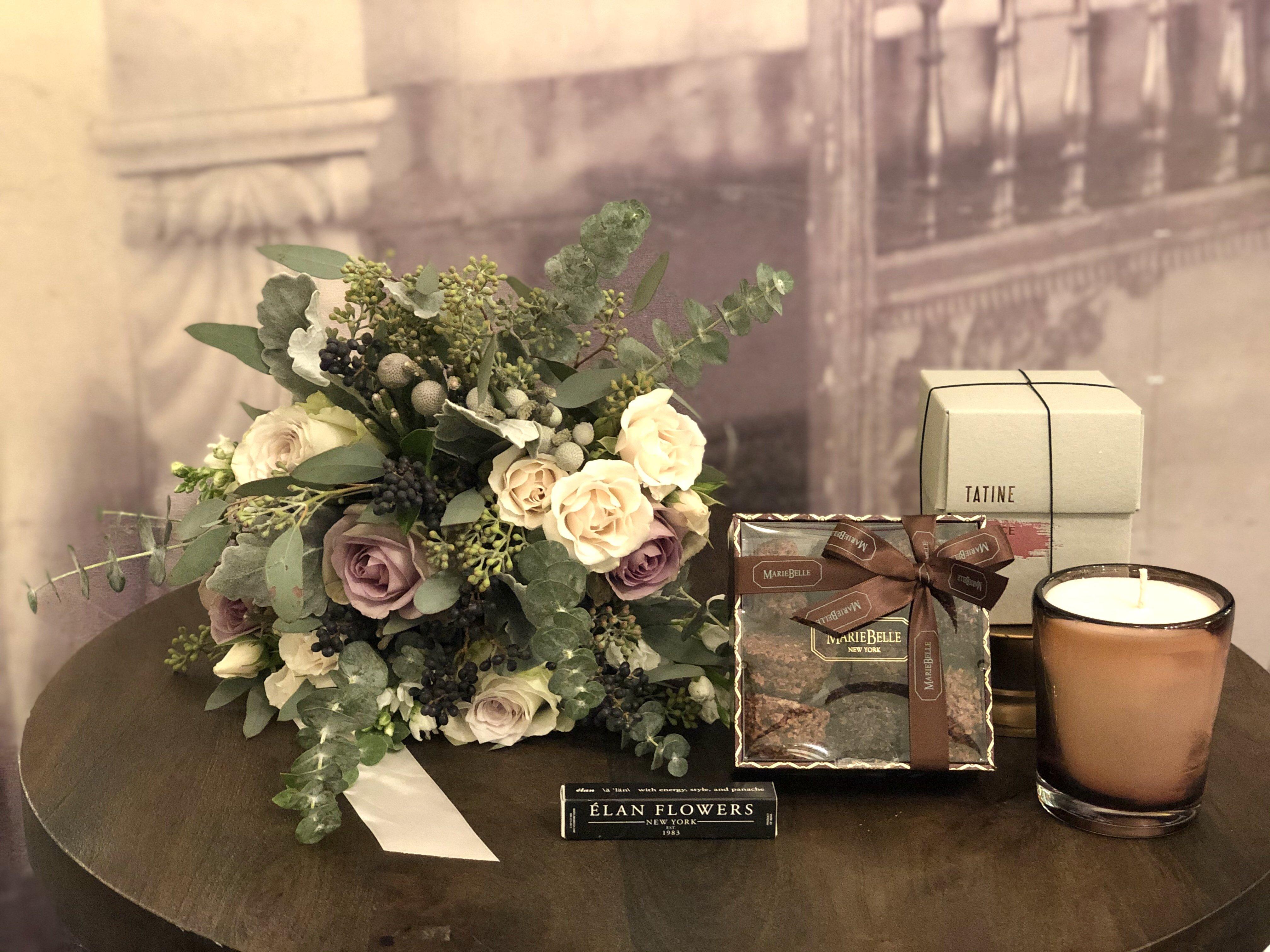 Cocoa Rose Gift Basket