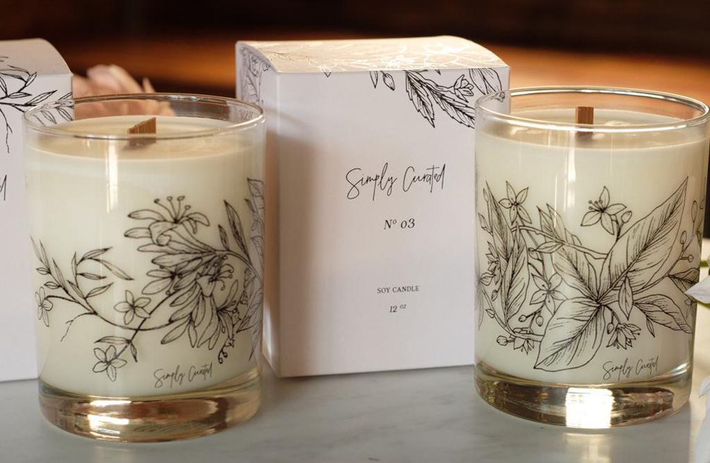 Simply Curated Candle